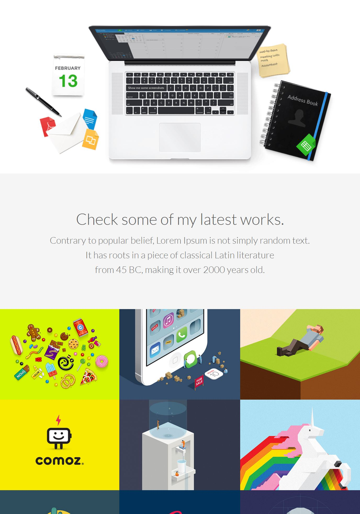 Bootstrap Cover Template