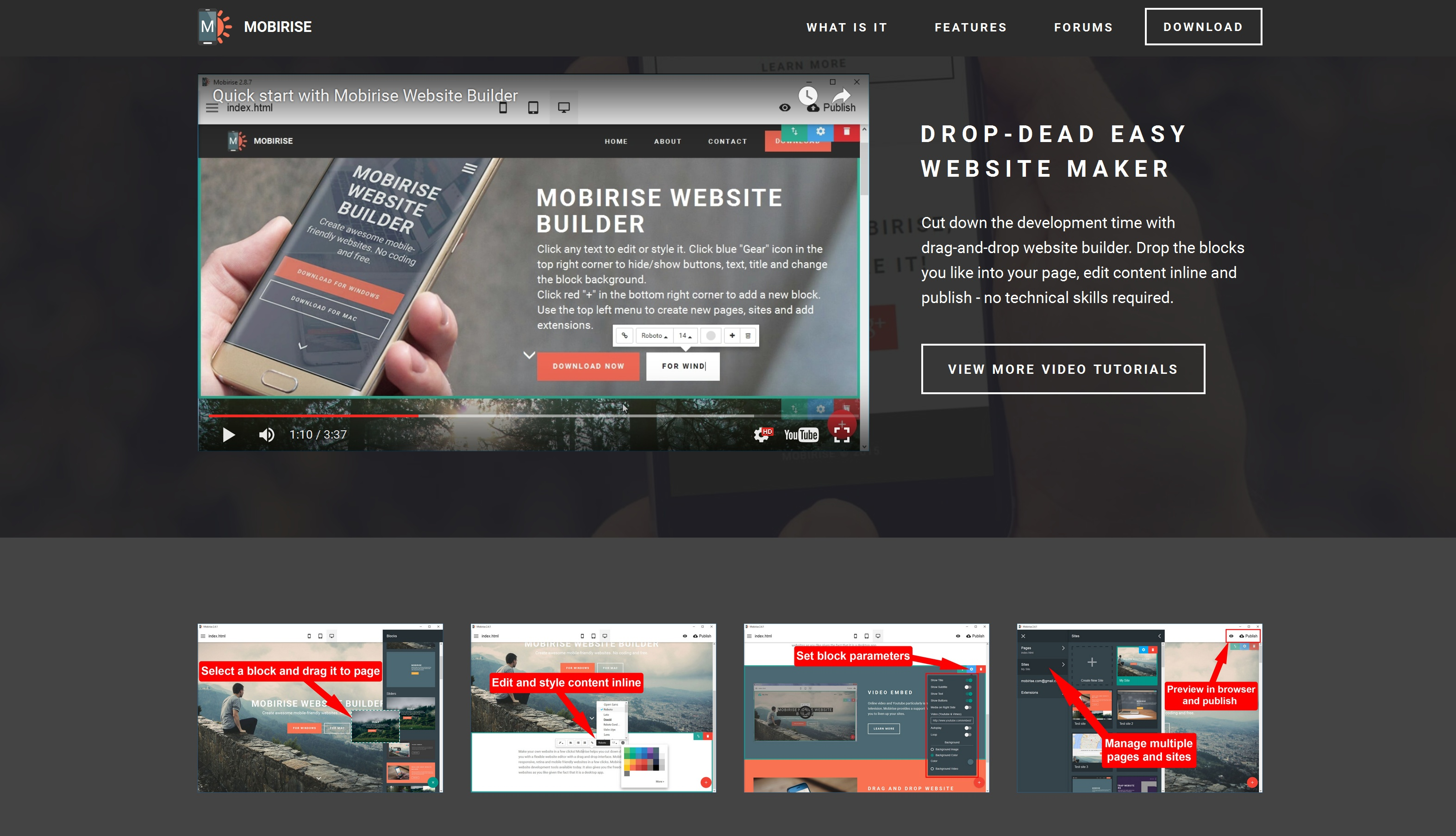 Easy Mobile Website Maker