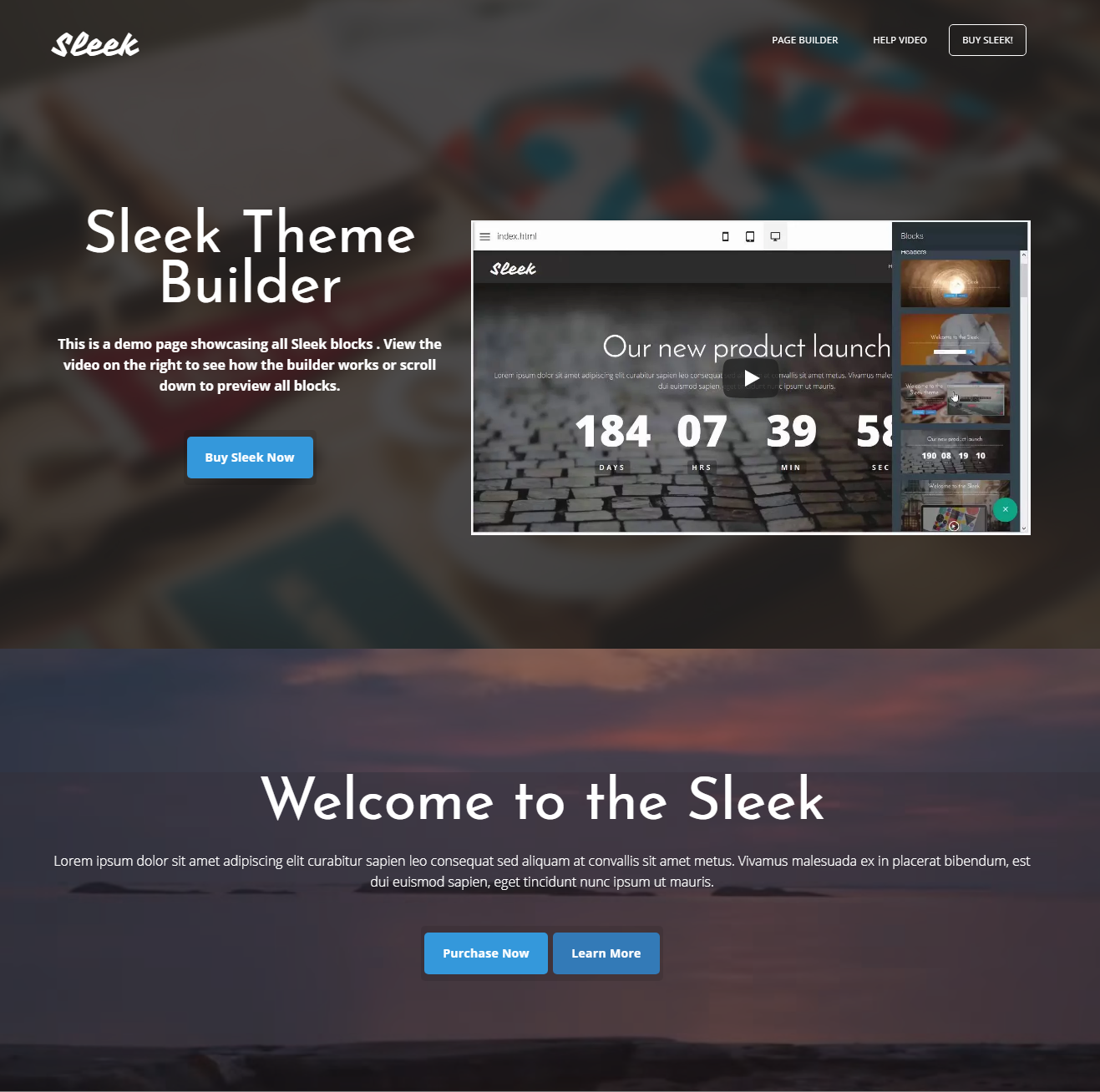 HTML5 Bootstrap Sleek Templates