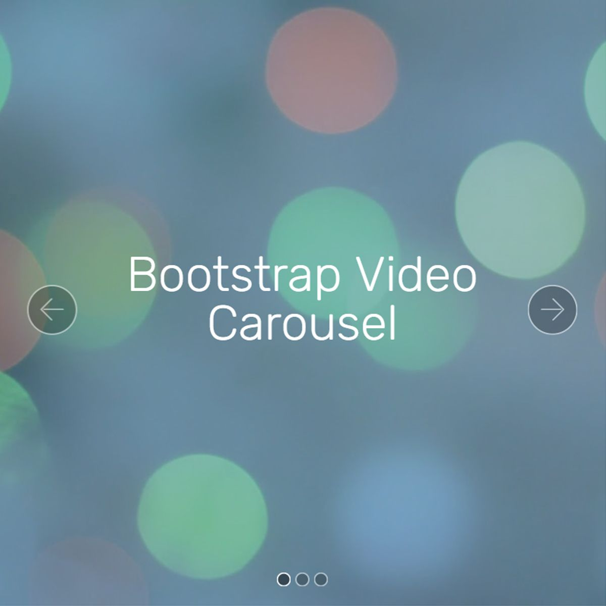 jQuery Bootstrap Illustration Slider
