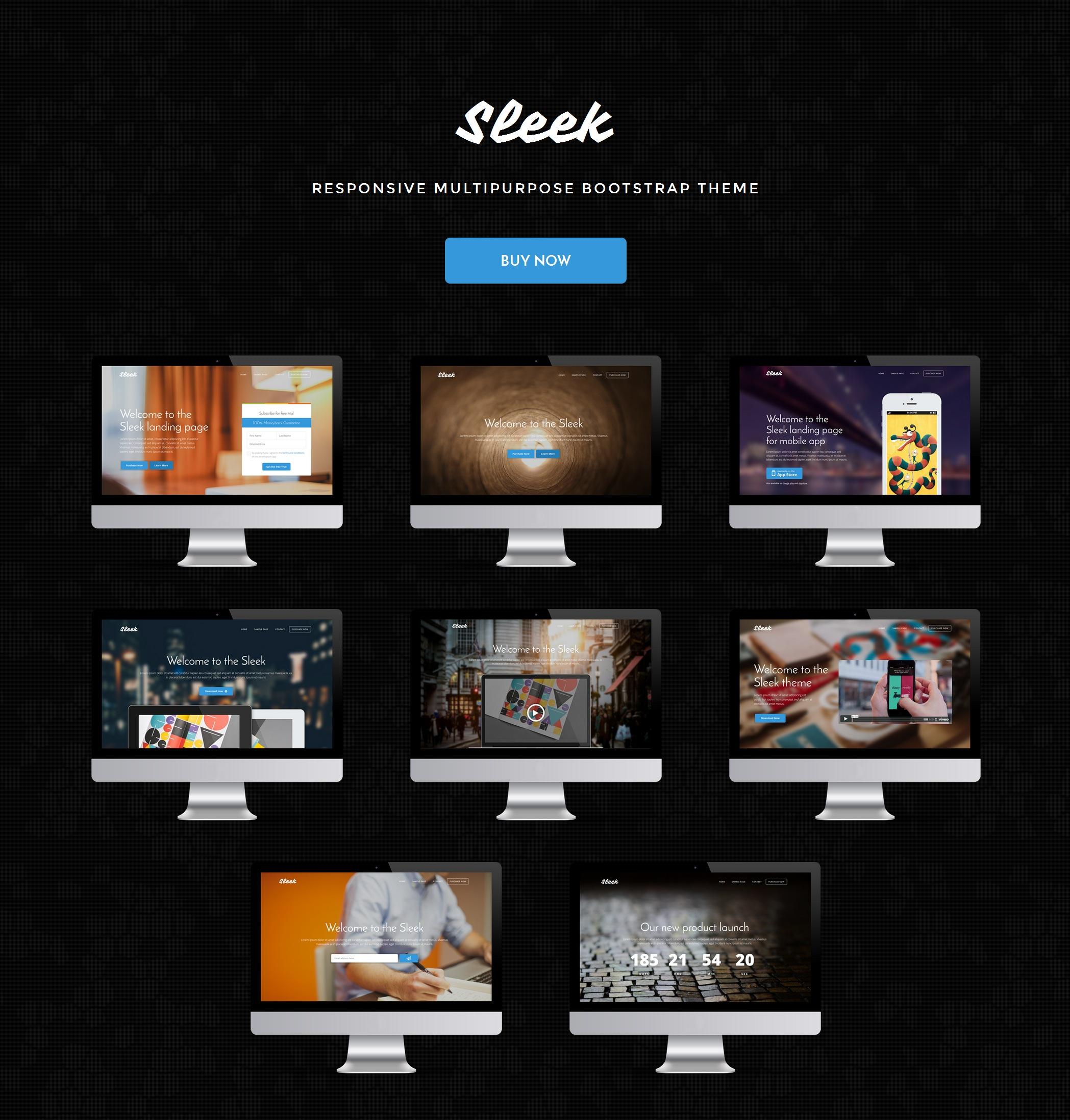 HTML5 Bootstrap Travel Theme
