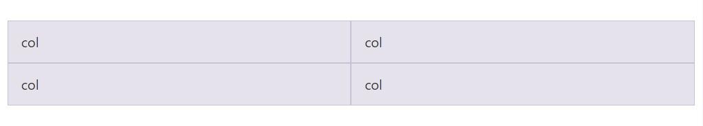 Equal width multi-row