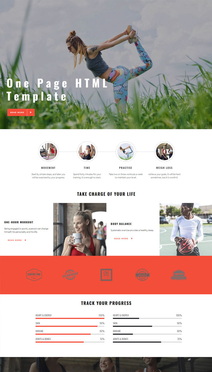 Professional Website Templates